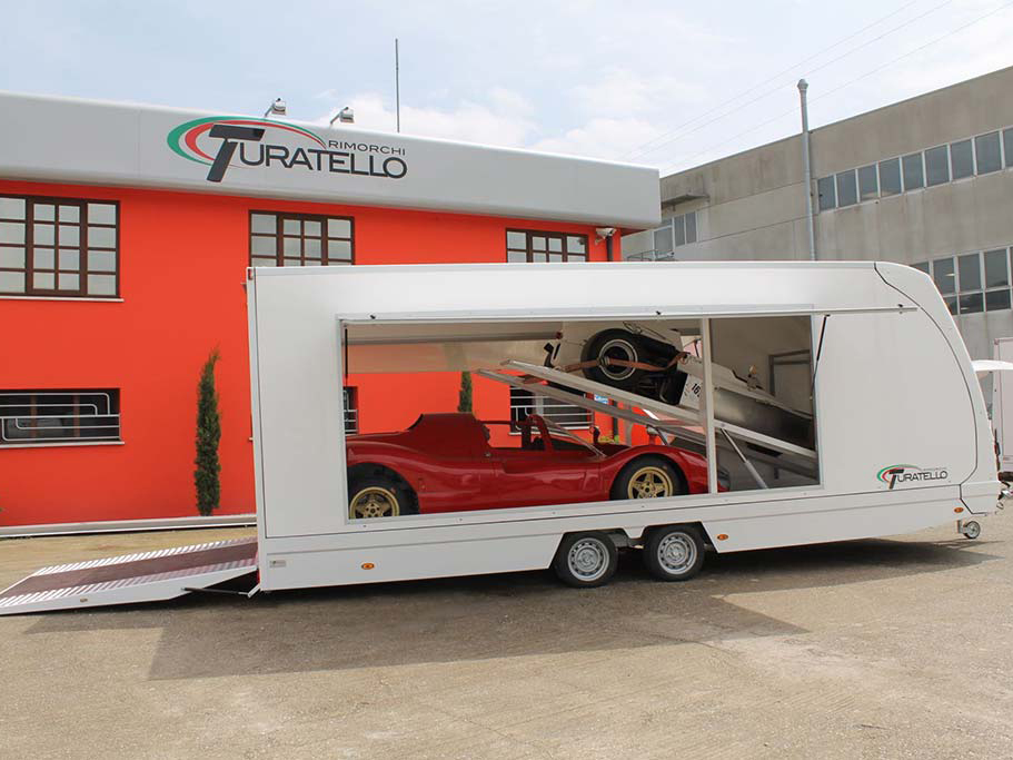Turatello F35 2 Cars XL Autotransporter
